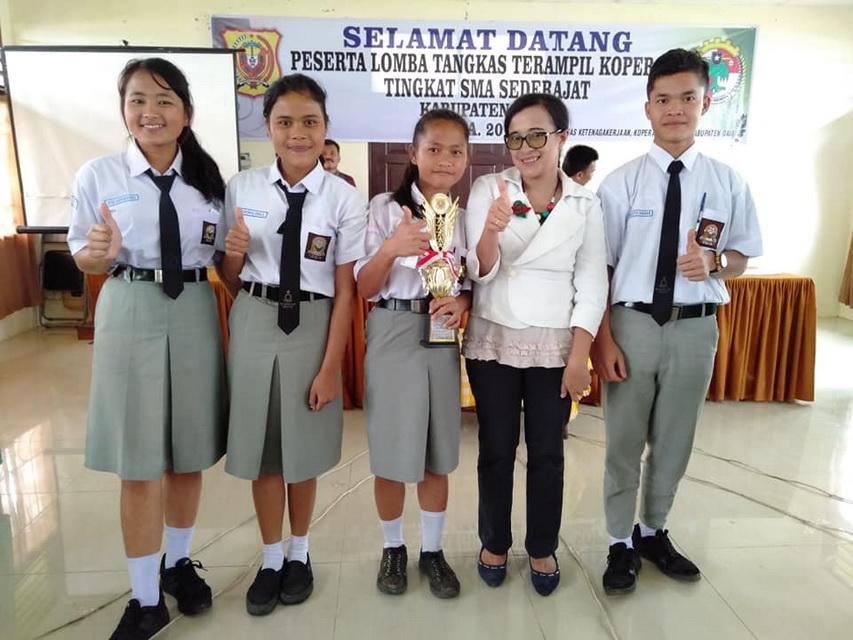 Juara 3 Cerdas Cermat Koperasi Tahun 2019